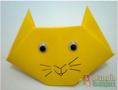 Image Result For Cara Membuat Kepala Kucing Dari Kertas Origami