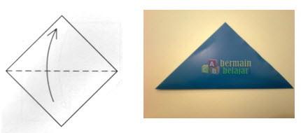 Home Kreasi Kertas Origami Cara Membuat Suriken
